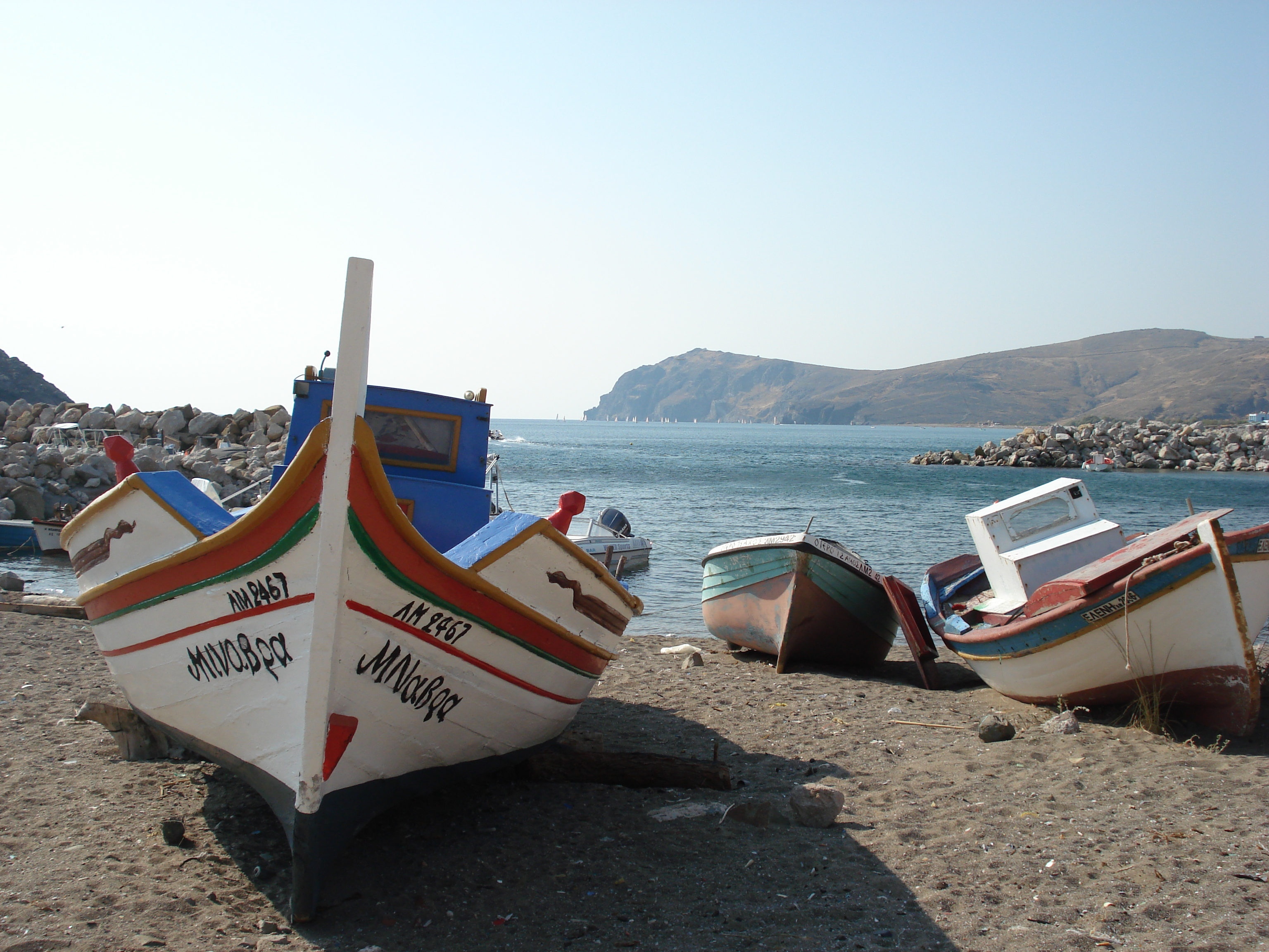 HARBOUR AT SKALA ERESSOS